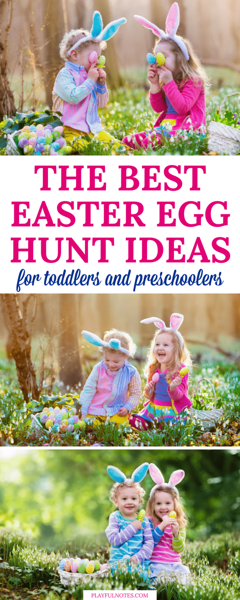 Scavenger hunts are always fun for kids! Here is a list of awesome Easter hunt ideas for kids to help you plan a great scavenger hunt that your child will love! | Easter hunt ideas | Easter hunt activities | How to make an Easter hunt #EasterForKids