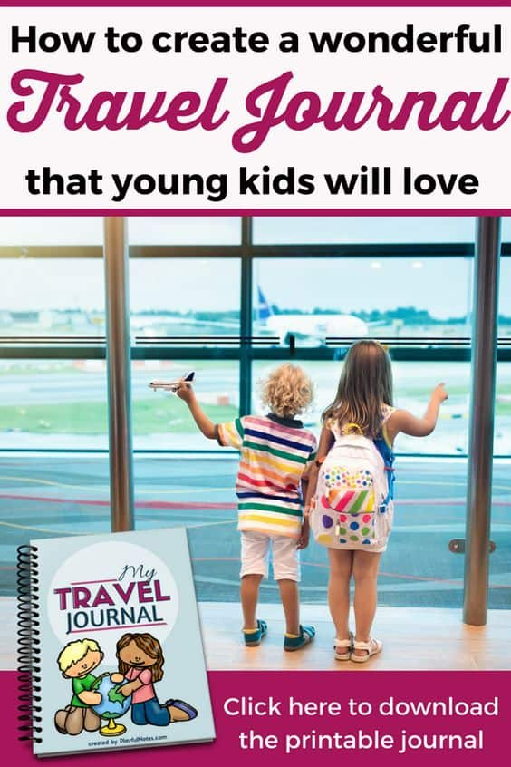 Your kids will love recording their memories in this fun travel journal for kids! It'll make a great keepsake for years to come! --- Download this awesome printable kid travel journal for your upcoming trip to create a DIY travel journal for kids! It's FREE only for a limited time! | Nice and playful travel journal pages for kids