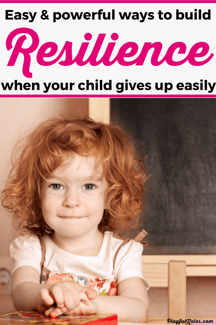 Teaching resilience to kids is essential for their ability to learn new things and don't give up easily. Here are some of the best tips to help you teach resilience to young children and help them develop a growth mindset. --- Resilience activities | Growth mindset activities | Growth mindset for kids #RaisingKids #GrowthMindset #PositiveParenting