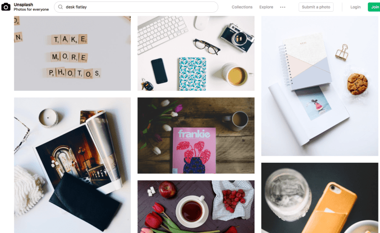 stock photos for bloggers
