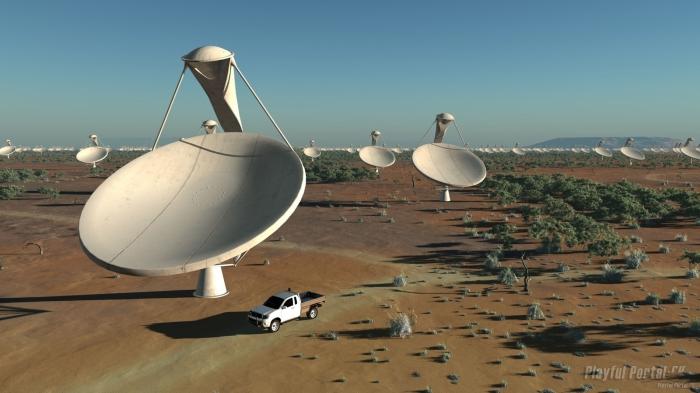 принято решение о строительстве самого большого и мощного в мире радиотелескопа SKA (Square Kilometer Array)
