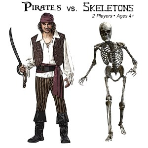 Pirates vs. Skeletons