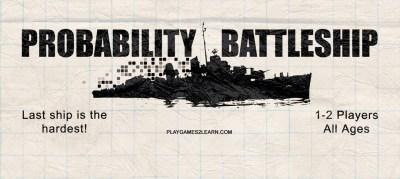 PlayGames2Learn.com - Probability Battleship