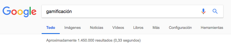 Gamificación en Google