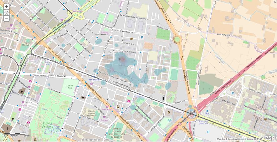 Mapa Benimaclet Alter Eco