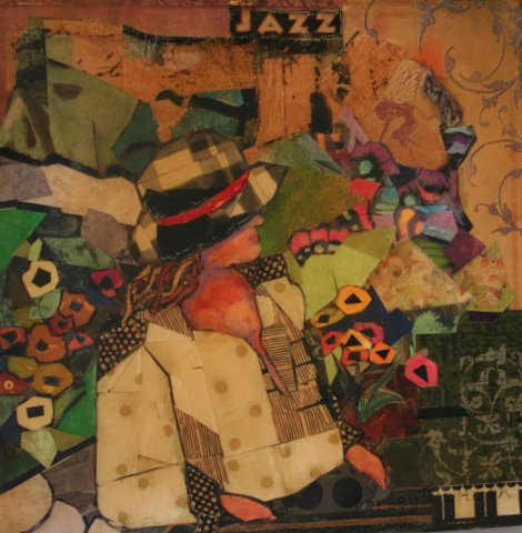 she is jazz -a new blog post and painting by dorsey mchugh