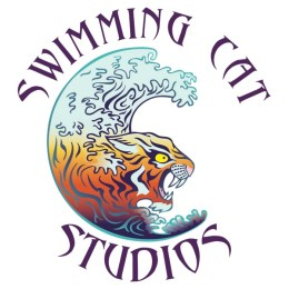 Swimming Cat Studios Logo