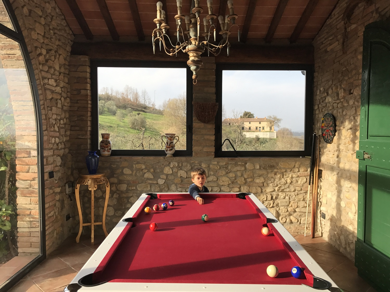 Una casa nel Chianti per vivere la Toscana con bambini