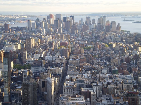 Empire State Building View From Top