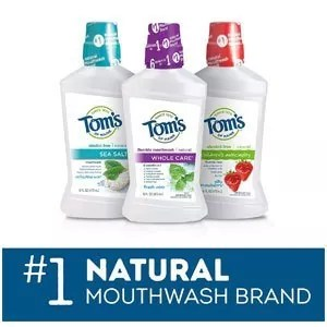 Tom's of Maine Long Lasting Wicked Fresh Cool Mountain Mouth Wash