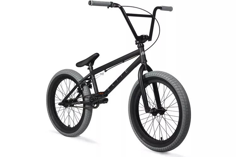Elite 20 BMX Bicycle Destro Model Freestyle Bike - 4 Piece Cr-MO Handlebar