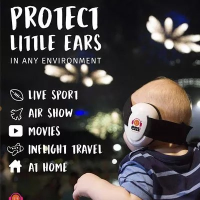 Ems for Kids Baby Earmuffs