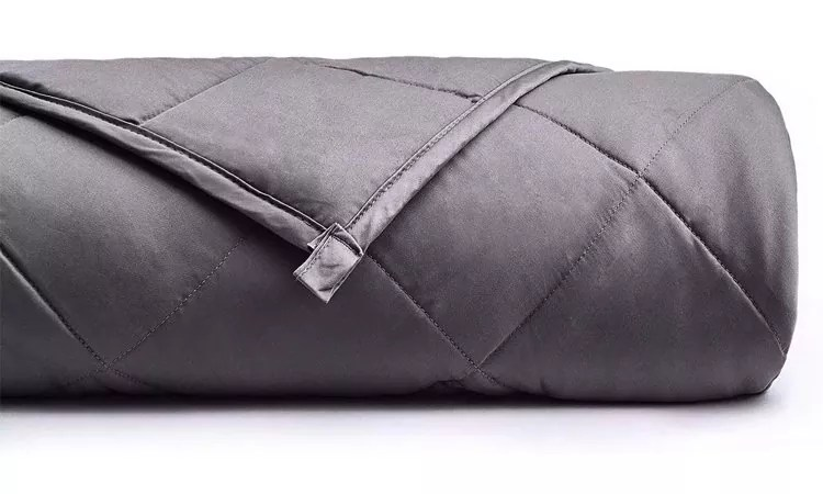 YnM Weighted Blanket (15 lbs, 48''x72'', Twin Size) for People Weigh Around 140lbs