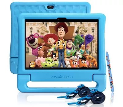 Dragon Touch KidzPad Y88X 10 Kids Tablets - Installed Disney Audio Books