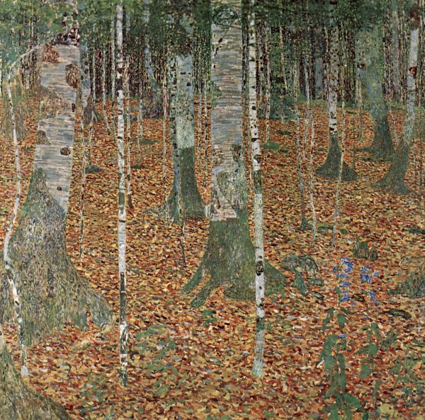 Romanian Fall and Gustav Klimt