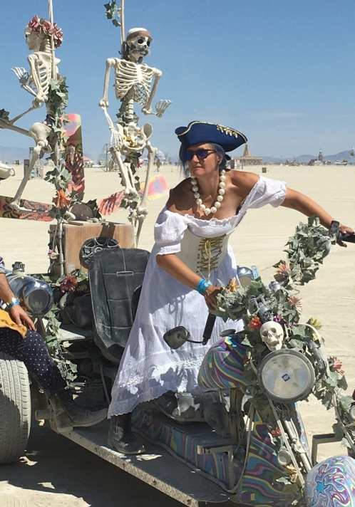 Stacey Newman Weldon of Adventure Wednesdays at Burning Man