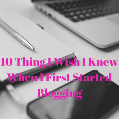 things-i-wish-i-knew-blogging