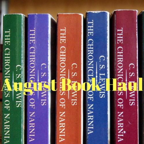 August Book Haul