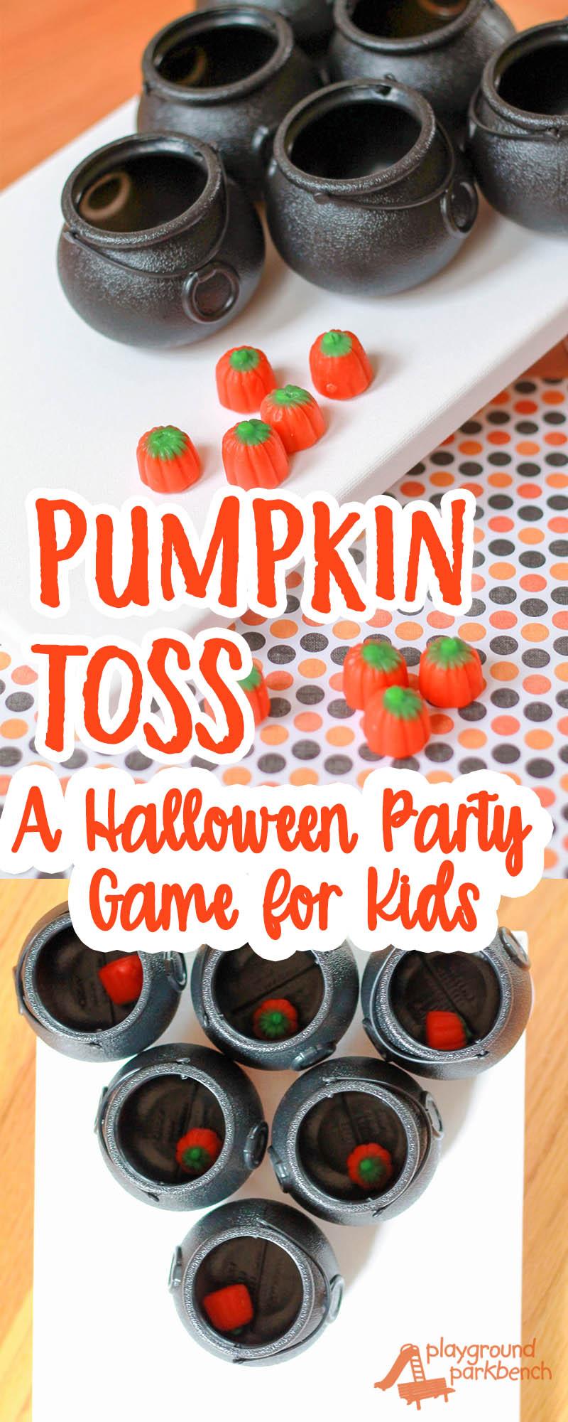 Pumpkin Toss Simple Party Games For Children
