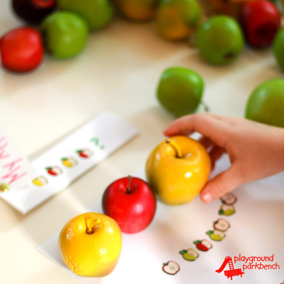 Stem Preschool Activities For Fall Apple Patterns