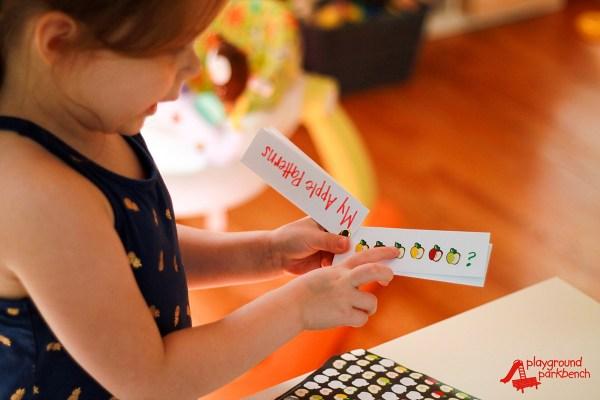 Stem Preschool Activities Fall Apple Patterns