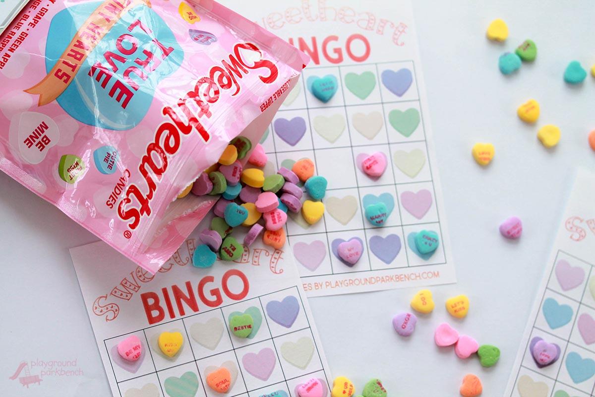 Valentine Bingo Game Printable