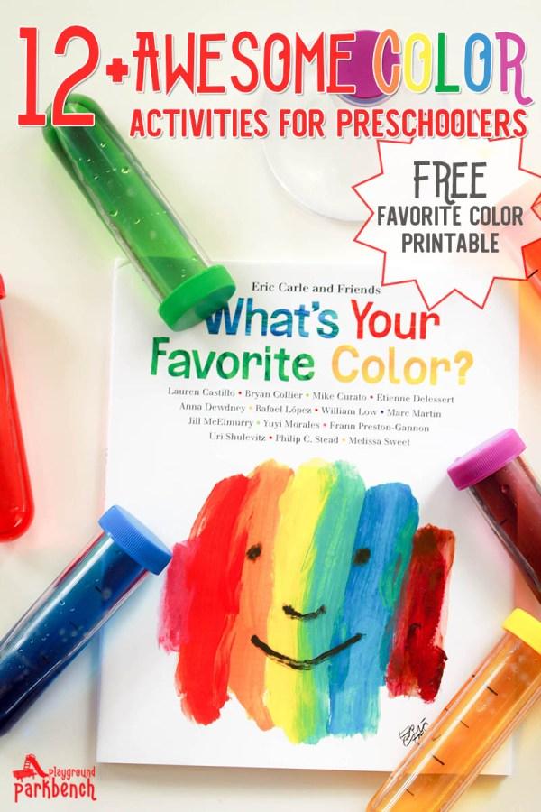 Love Favorite Color Activities