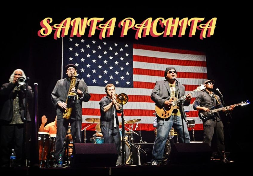 SANTA PACHITA LIVE ON THE PLAYGROUND BAR AND LOUNGE ROOFTOP