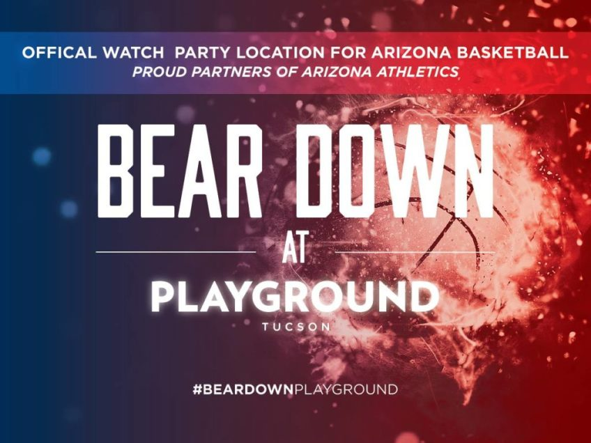 UA VS OREGON ST. OFFICIAL WATCH PARTY AT PLAYGROUND BAR AND LOUNGE