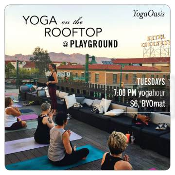 Rooftop YogaHour with YogaOasis