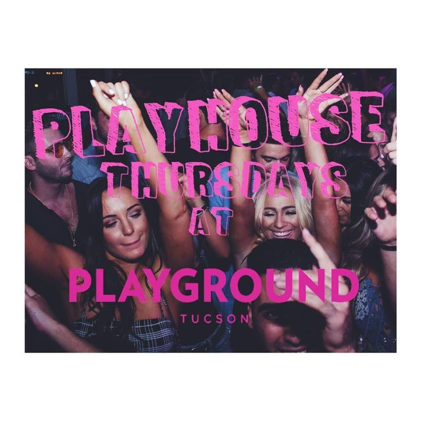 PLAYHOUSE THURSDAYS ON THE PLAYGROUND BAR AND LOUNGE ROOFTOP