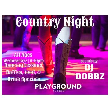Rooftop Country Nights with Free Dance Lessons