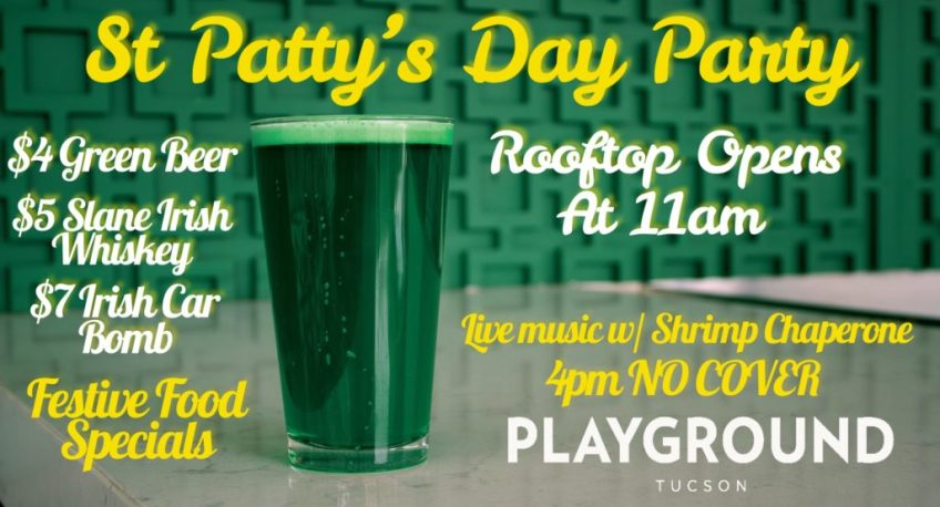 ST PATRICK'S DAY POST-PARADE PARTY ON THE PLAYGROUND ROOFTOP