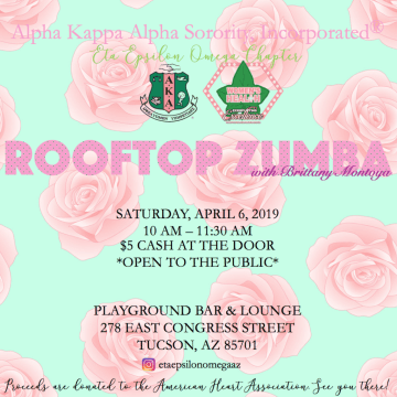 Rooftop Zumba Brunch with Alpha Kappa Alpha