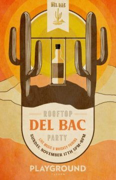 Del Bac Whiskey Rooftop Party