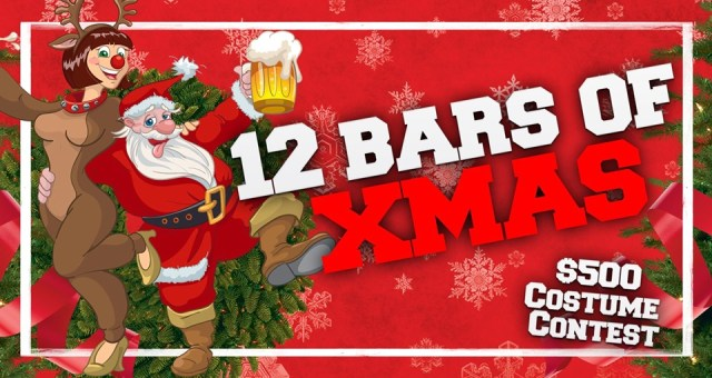 12 Bars of Xmas Bar Crawl