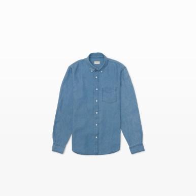 Linen Shirt in Light Indigo