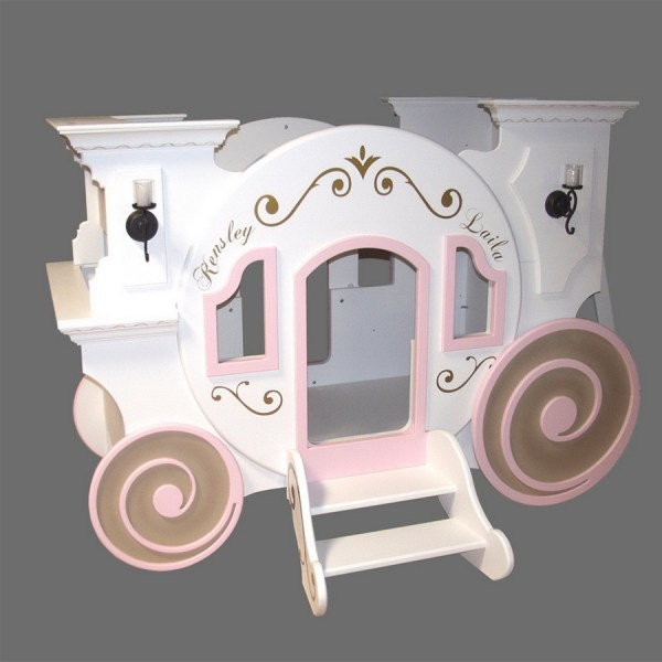 Cinderella Carriage Bunk Bed - Tanglewood Design