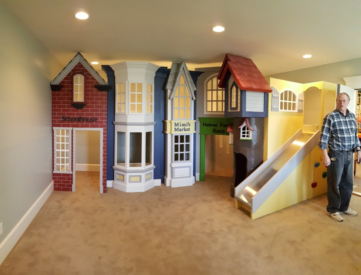 Classic Storefront Playhouse  Designed by Tanglewood Design