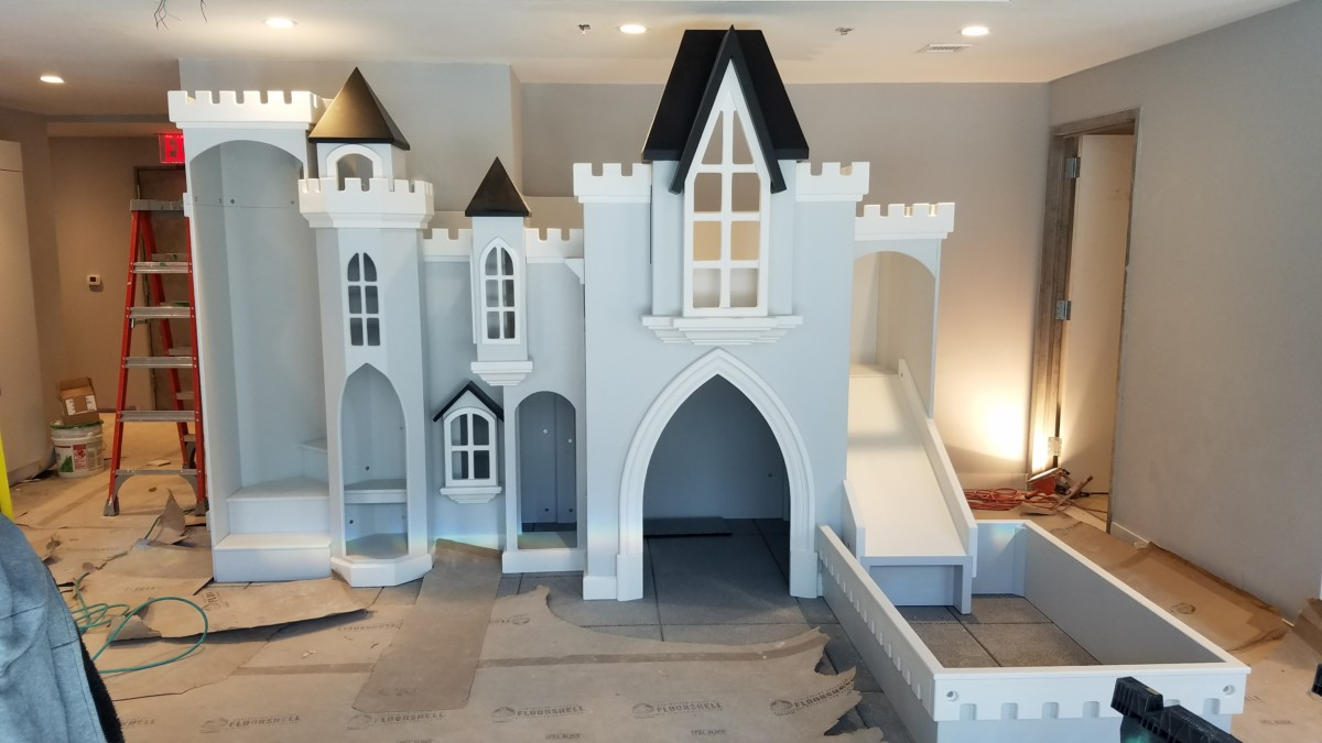Sky View Castle Playhouse Custom Made By Tanglewood