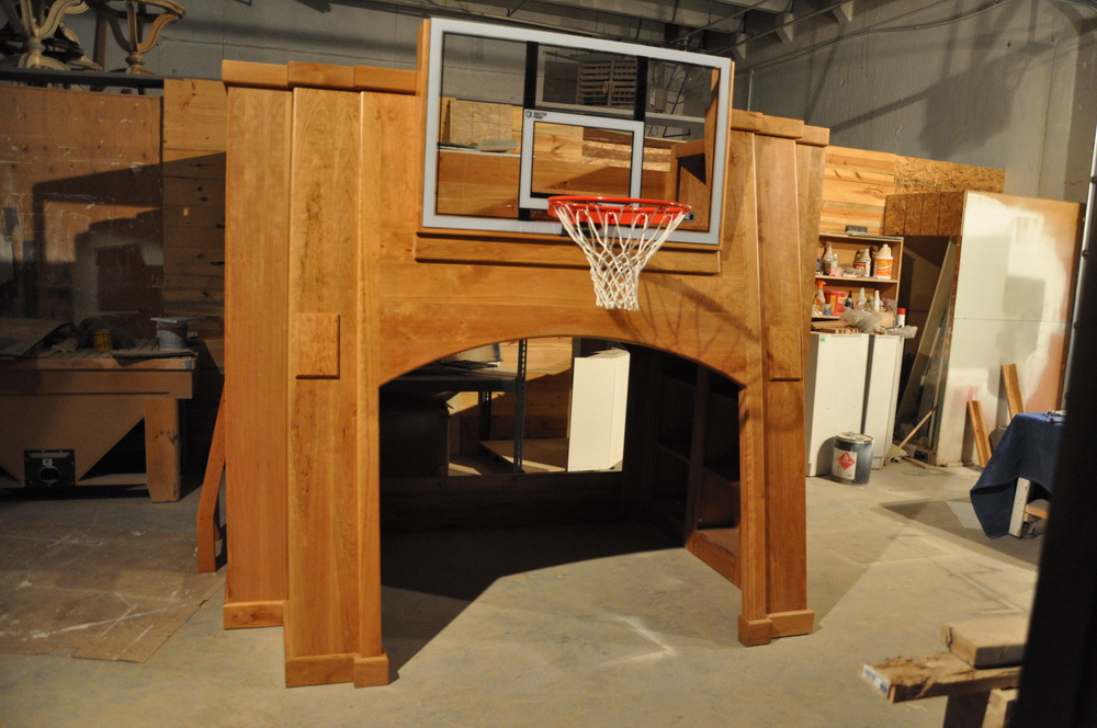 Pro Basketball Bunk Bed  Custom Designed and Built by Tanglewood