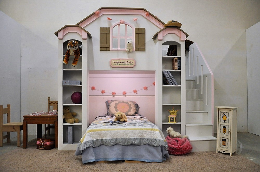 McKenzie Bunk Bed  Customized Design by Tanglewood Design
