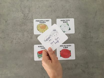 "Play ""Snap"" with the Hua Hee Snap card game by Hua Hee! Hua Hee Snap is test of coordination skills, players who identify matching cards and shout ""Snap!"" first, wins the game. All game packs come with a set of instructions."