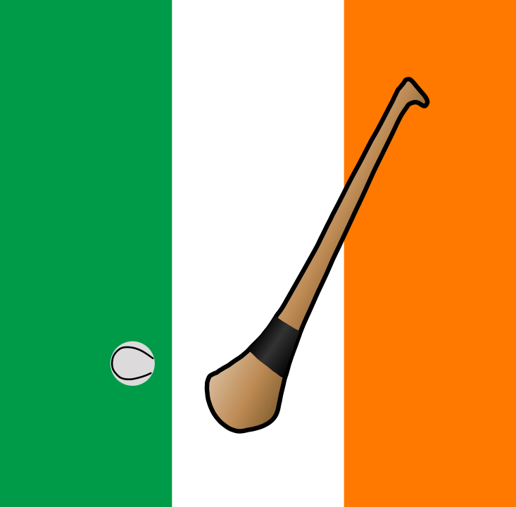 hurling irish flag