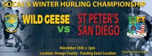 socal hurling wild geese vs st peters san diego