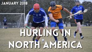 Hurling in North America January 2018