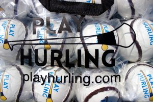 Championship Dozen Sliotars Size 5 | Play Hurling Logo