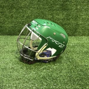 Hurling Helmet Mycro Plain Green Solid