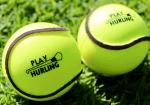 Wall Ball & All-Weather Sliotar   Play Hurling Logo