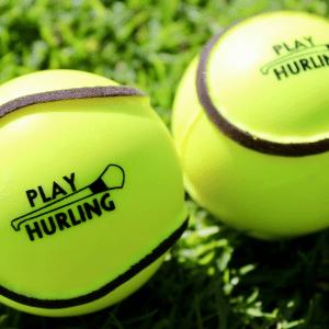 Wall Ball & All-Weather Sliotar | Play Hurling Logo